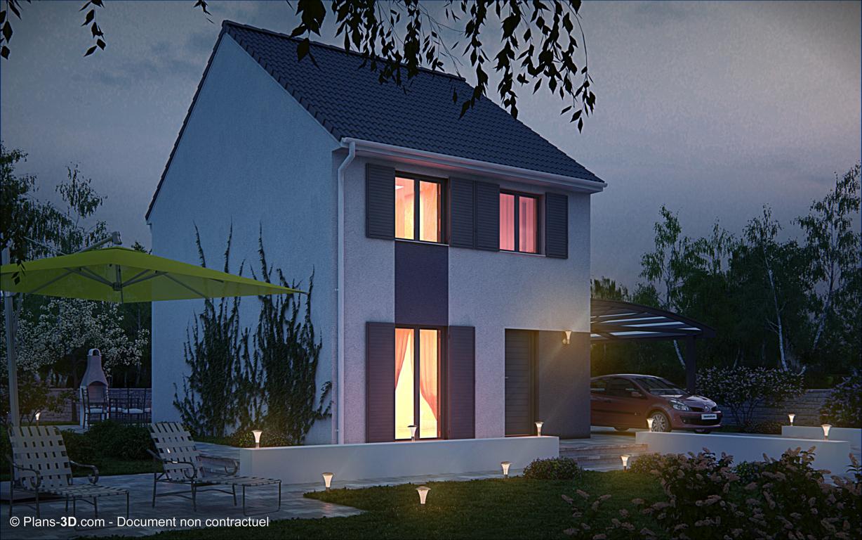 Saint brevin les pins hus til salg for Maison pierre modele noctuelle